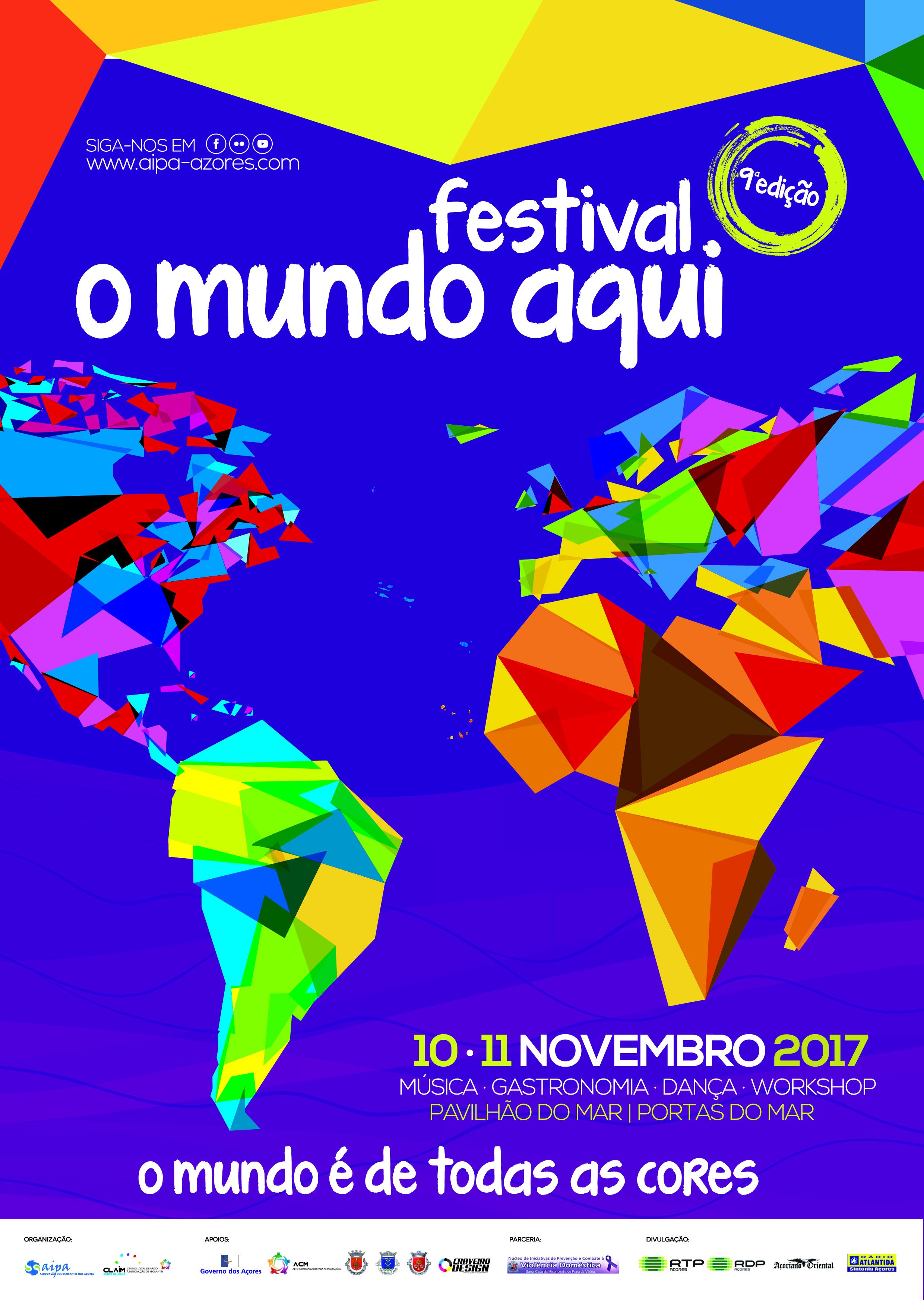 Resultado de imagem para festival o mundo aqui