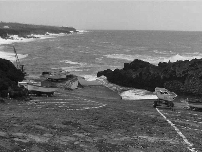 Porto baleeiro de São Mateus. Ilha do Pico