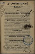 A Constituição Real ou A Verdadeira Forma de Governo