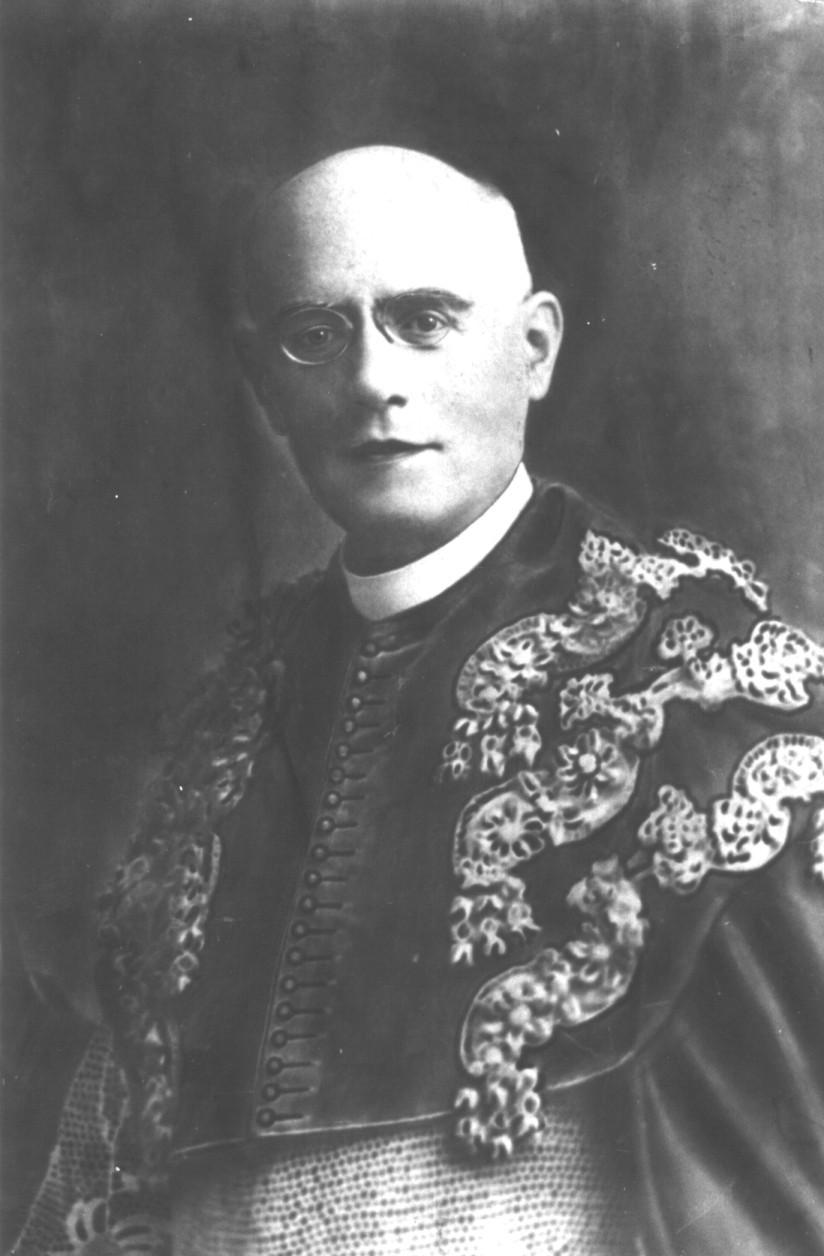 José Bernardo Almada. Imagem do Seminário Episcopal de Angra do Heroísmo