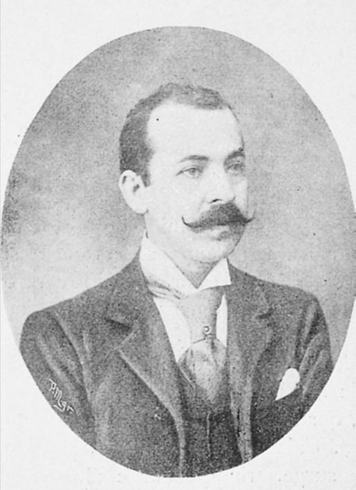 Manuel Augusto de Amaral. Retrato reproduzido do Album Açoriano